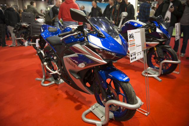 London motorcycle show 2015